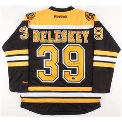 Matt Beleskey Signed Boston Bruins Jersey (Beleskey COA)
