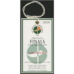 1996 U.S. Amateur - Pumpkin Ridge Finals Game Ticket
