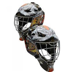 John Gibson Signed Anaheim Ducks Full Size Goalie Mask (Fanatics Hologram)