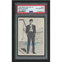 1964 Beatles Black and White #24 Ringo (PSA Authentic)