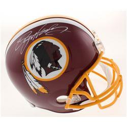 Dwayne Haskins Signed Washington Redskins Full-Size Helmet (JSA COA)