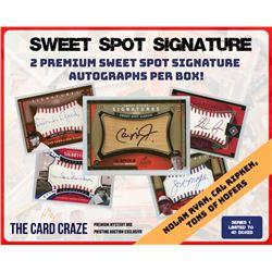 "The Card Craze ""Sweet Spot Signature"" Series 1 Mystery Box"
