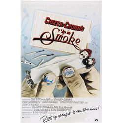 "Tommy Chong  Cheech Martin Signed ""Up In Smoke"" 12x18 Photo Inscribed ""19"" (JSA COA)"