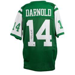 Sam Darnold Signed New York Jets Jersey (JSA COA)