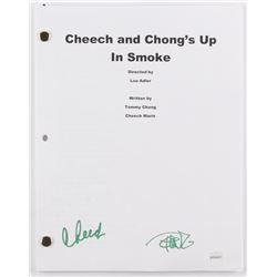 "Cheech Marin  Tommy Chong Signed ""Cheech and Chong's Up in Smoke"" Movie Script (JSA COA)"