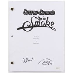 "Cheech Marin  Tommy Chong Signed ""Cheech y Chong's Up in Smoke"" Movie Script (JSA COA)"