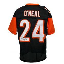 Deltha O'Neal Signed Cincinnati Bengals Jersey (TriStar Hologram)