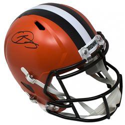Odell Beckham Jr Signed Cleveland Browns Full Size Speed Helmet (JSA COA)