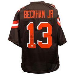 Odell Beckham Jr Signed Cleveland Browns Jersey (JSA COA)