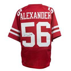 Kwon Alexander Signed San Francisco 49ers Jersey (JSA COA)