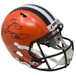 Odell Beckham Jr.  Jarvis Landry Signed Cleveland Browns Full-Size Speed Helmet (JSA COA)
