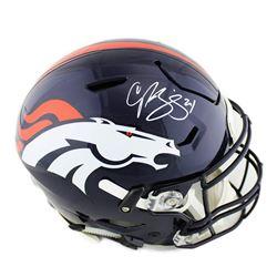 Champ Bailey Signed Denver Broncos Full-Size Authentic On-Field SpeedFlex Helmet (Radtke COA)