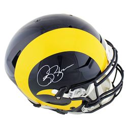 Isaac Bruce Signed St. Louis Rams Full-Size Authentic On-Field SpeedFlex Helmet (Radtke COA)