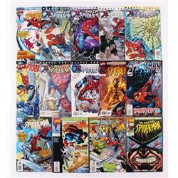 "Lot of (14) 1997-2001 Marvel ""Amazing Spider-Man"" Comic Books with Issues #419, 426, 432, 440"