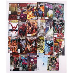 "Lot of (23) 2008-2009 Marvel ""Amazing Spider-Man"" Comic Books with Issues #551, 557, 570, 581, 597"