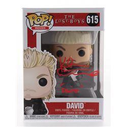 "Kiefer Sutherland Signed ""The Lost Boys"" David #615 Funko Pop! Vinyl Figure Inscribed ""David"" (JSA C"