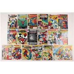 """Lot of (19) 1992-93 """"The Amazing Spider-Man"""" #362-379 Marvel Comic Books"""