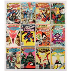 """Lot of (12) 1982-83 """"The Amazing Spider-Man"""" #231-241 Marvel Comic Books"""