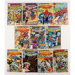 """Lot of (11) 1978-79 """"The Amazing Spider-Man"""" #179-190 Marvel Comic Books"""