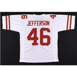 Malik Jefferson Signed Texas Longhorns Jersey (Jefferson Hologram)