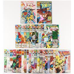 Lot of (33) 1992-1997 X-Men Marvel Comic Books