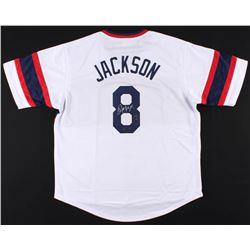 Bo Jackson Signed Chicago White Sox Throwback Jersey (Radtke COA  Jackson Hologram)