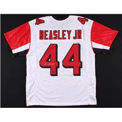 Vic Beasley Signed Atlanta Falcons Jersey (Radtke COA)