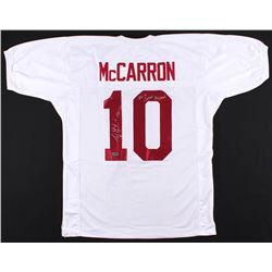 "AJ McCarron Signed Alabama Crimson Tide Jersey Inscribed ""36-4 Career Record"" (Radtke Hologram)"