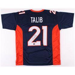 Aqib Talib Signed Denver Broncos Jersey (Radtke COA)