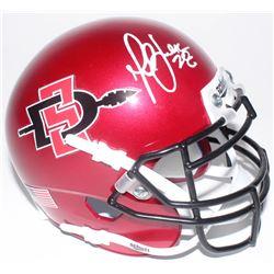 Marshall Faulk Signed San Diego State Aztecs Mini-Helmet (Radtke COA)