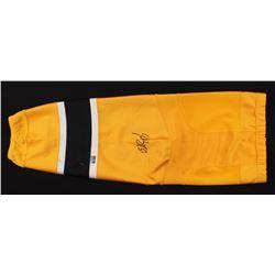 Patrice Bergeron Signed Boston Bruins Game-Worn Sock (Your Sports Memorabilia Store COA)