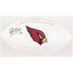 Patrick Peterson Signed Arizona Cardinals Logo Football (Radtke COA)