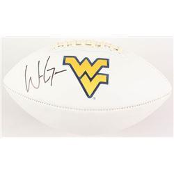 Will Grier Signed West Virginia Mountaineers Logo Football (Radtke COA)