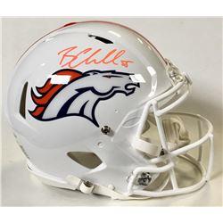 Bradley Chubb Signed Denver Broncos Full-Size Authentic On-Field Speed Helmet (Beckett COA)