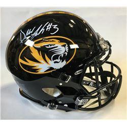 Drew Lock Signed Missouri Tigers Full-Size Authentic On-Field Speed Helmet (Beckett COA)