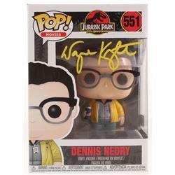 "Wayne Knight Signed ""Jurassic Park"" Dennis Nedry #551 Funko POP! Vinyl Figure (PA COA)"
