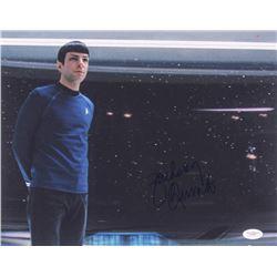 "Zachary Quinto Signed ""Star Trek"" 11x14 Photo (JSA Hologram)"