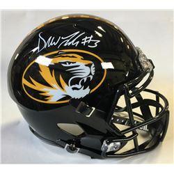 Drew Lock Signed Missouri Tigers Full-Size Speed Helmet (Beckett COA)