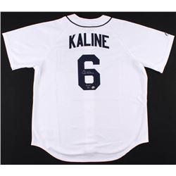 """Al Kaline Signed Detroit Tigers Jersey Inscribed """"HOF 80"""" (Radtke COA)"""