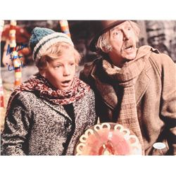 """Peter Ostrum Signed """"Willy Wonka  the Chocolate Factory"""" 11x14 Photo Inscribed """"from 'Charlie'"""" (JSA"""