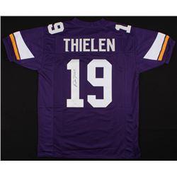 Adam Thielen Signed Minnesota Vikings Jersey (JSA COA)
