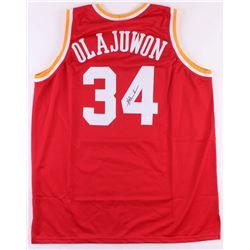 Hakeem Olajuwon Signed Houston Rockets Jersey (JSA COA)