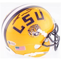 Tyrann Mathieu Signed LSU Tigers Mini Helmet (Beckett COA)