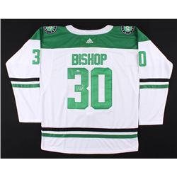 Ben Bishop Signed Dallas Stars Jersey (Beckett COA)