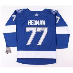 Victor Hedman Signed Tampa Bay Lightning Jersey (Beckett COA)