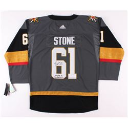 "Mark Stone Signed Vegas Golden Knights Jersey Inscribed ""Welcome to the Fortress"" (Beckett COA)"