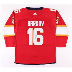Aleksander Barkov Jr. Signed Florida Panthers Jersey (Beckett COA)