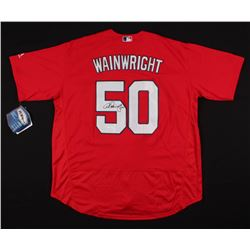 Adam Wainwright Signed St. Louis Cardinals Jersey (JSA COA)