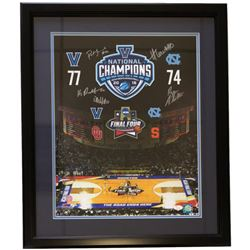 2016 Villanova Wildcats 22x27 Custom Framed Photo Display Signed by (5) with Ryan Arcidiacono, Danie