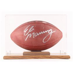 Eli Manning Signed Official NFL Game Ball (Beckett COA  Steiner Hologram)